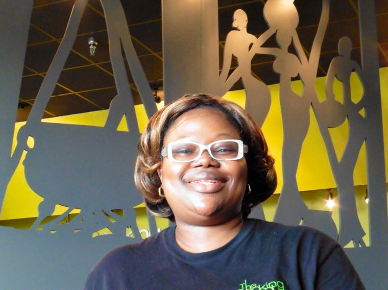 Nigerian-born Esther Ikuru recently opened Cooking Pot African Kitchen on Independence Boulevard.