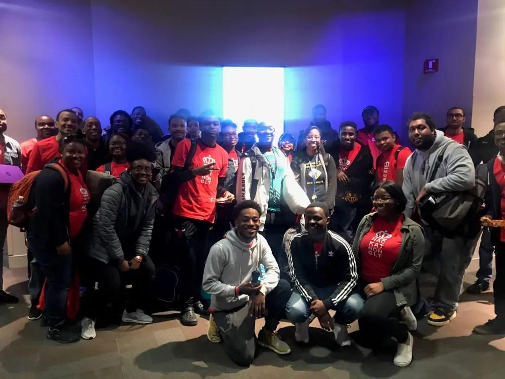 NCAT-students-at-hackathonCLT-2019