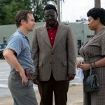 "Sam Rockwell, Babou Ceesay and Taraji P. Henson star in ""The Best of Enemies."""