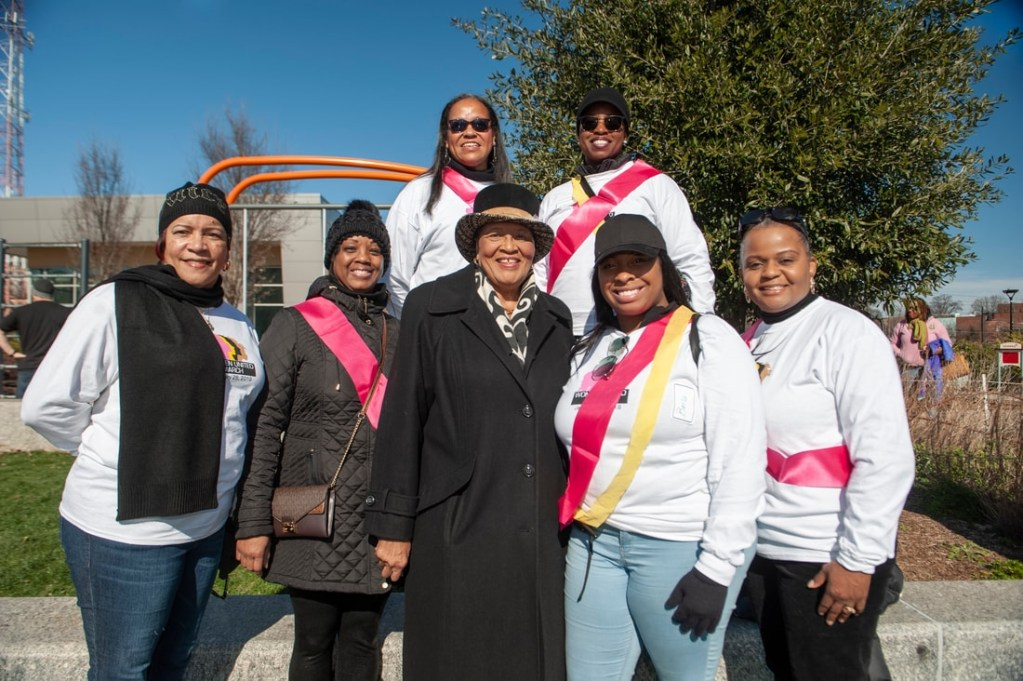National-Coalition-100-Black-Women-Queen-City-Women-United-March