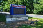 Vance-High-School-marquee