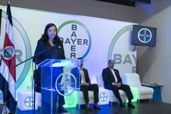 Bayer ribbon cutting ceremony