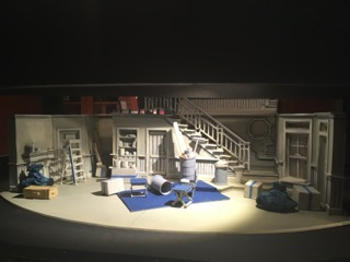 Clybourne Park Act II. Maquettes by Michael Eagan. Photos by Vanessa Rigaux