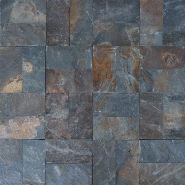 rustic slate paver qdi surfaces