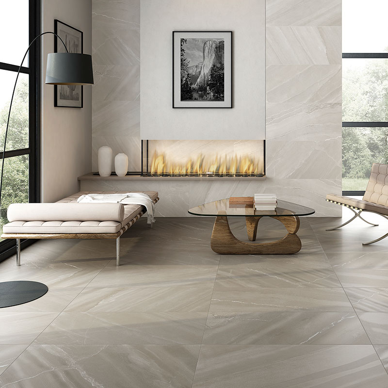 taupe 20 x40 porcelain floor wall