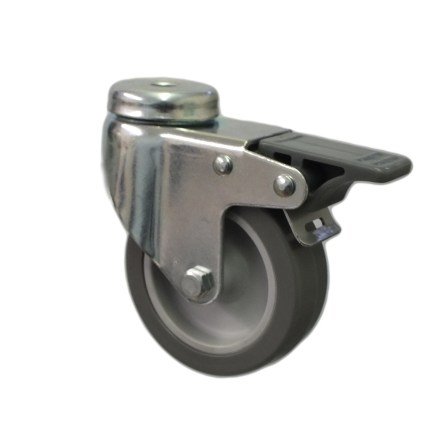 Light Duty Grey Rubber Tyre Bolt Hole Range