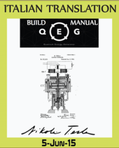 QEG build manual Italian