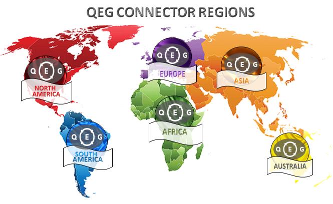 QEG connector regions