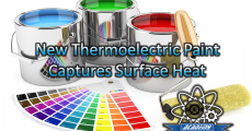 Thermoelectric paint could capture heat energy on any surface