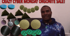Orgonite Crazy Cyber Monday Sale! 64% off!