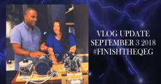 #FINISHTHEQEG Update Sept 3rd 2018