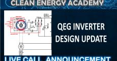 QEG Inverter Design Update Live Call Sept 23 2018 6pm