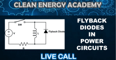 Flyback Diode Techniques in Power Circuits Live Call January 26 2020