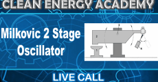 Milkovic 2 Stage Oscillator as a Mechanical Amplifier For Power Generation