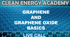 Graphene and Graphene Oxide Basics Live Call Sunday August 22, 2021 @5PM EST
