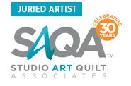 Susan Ball Faeder is a SAQA Juried Artist Member