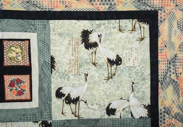 Detail of Japanese Cranes © Susan Ball Faeder