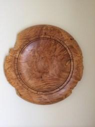 22 inch Maple Burl Platter