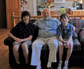 Grandsons Jonathan, Christopher & Myself