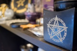 A Port Credit shop offering items for spiritualists continues to thrive. (Photo: Sukh Toor/QEW South Post)