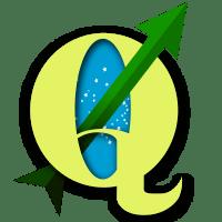 Logo QGIS Brasil