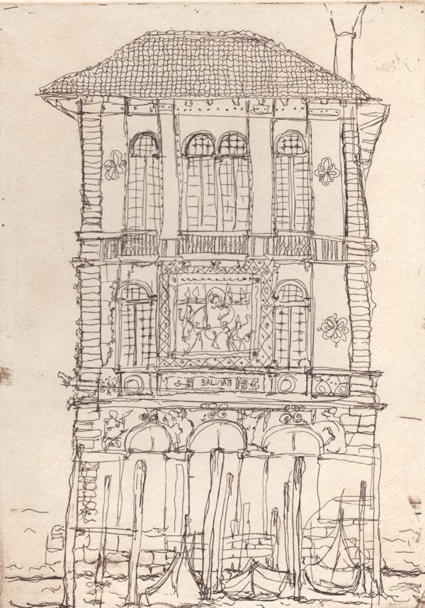 Palazzo Salviati Grand Canal Venice, Soula Mantalvanos