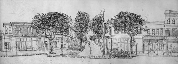 Gertrude Streetscape South Plate 2 Soula Mantalvanos