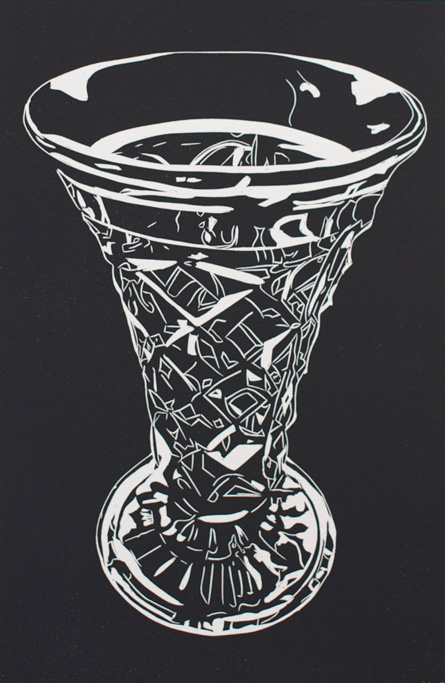 SharronOkines_2014_Kitchenalia 1007)Linocut_38x28cm