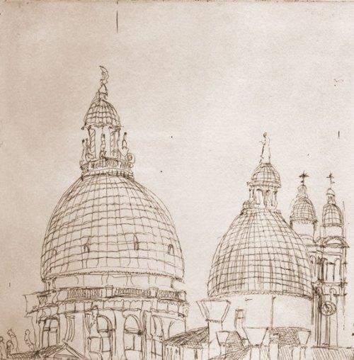 Venetian Domes, Soula Mantalvanos