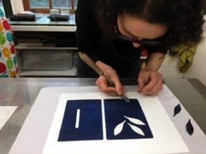 Anita Iacovella - Monoprint & Monotype