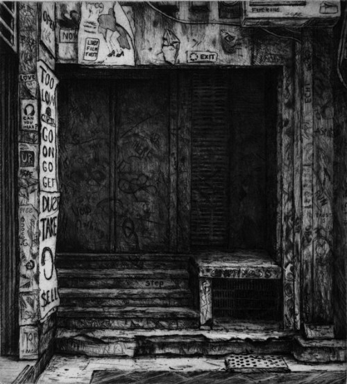 Joel-Wolter_The-doorway_drypoint_2015 PPP