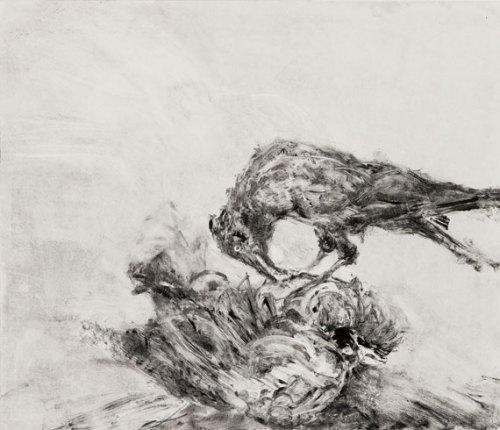 Susan-Wald-Crow-VI,-2016,-Monotype,-Black-Ink-on-Hahnmuhle-Paper,-59-x-69-cm-jpg
