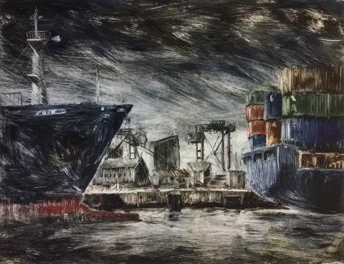 James Pasakos Scene I, Appleton Dock