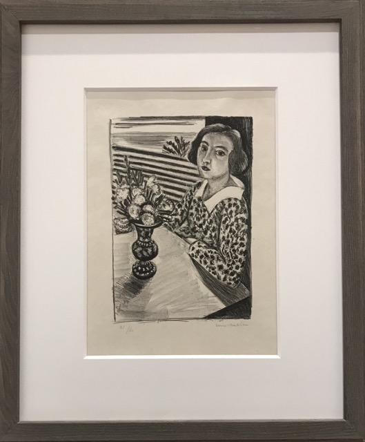 MUVE Matisse Lady with Vase of Flowers
