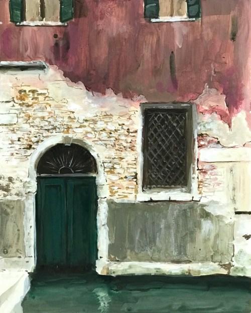 Soula Mantalvanos Fondamenta Mocenigo (near San Stae) Venice