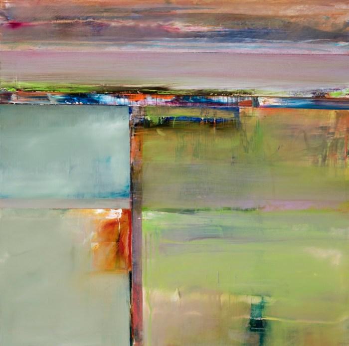 John Waller Anamnesis 3 2019 81 x 81cm