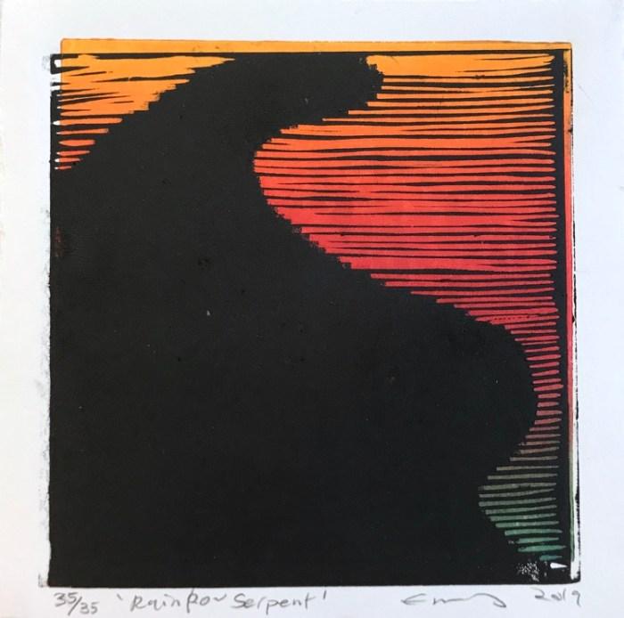 Emmy Mavroidis Rainbow Serpent
