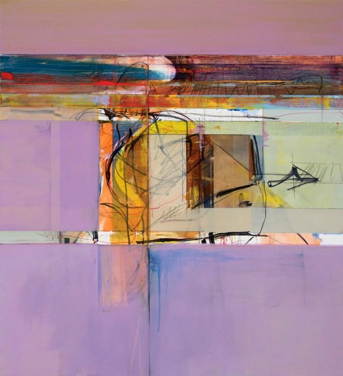 John Waller Anamnesis 11 2019 102 x 92cm