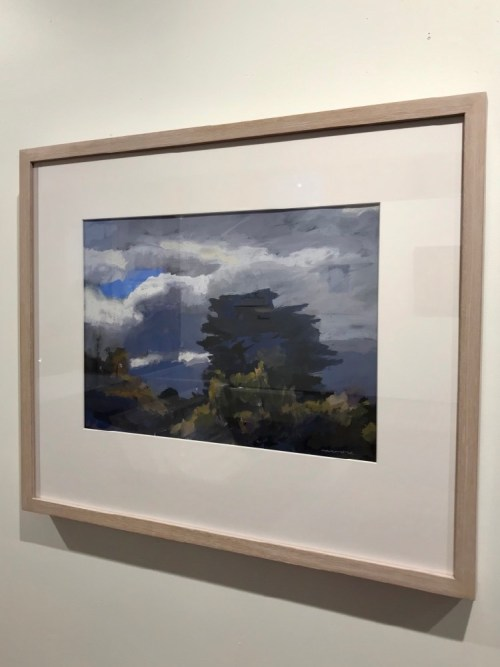 David Moore Castlemaine Sky framed $1600