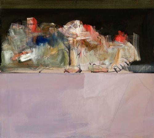 John Waller Study 7 2019 46 x 51cm