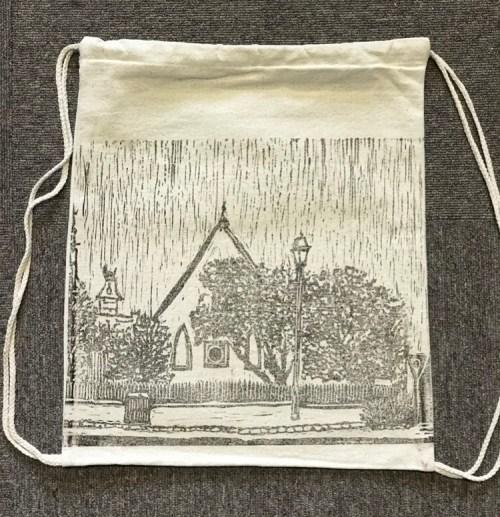 Queenscliff Gallery & Workshop Drawstring Backpack