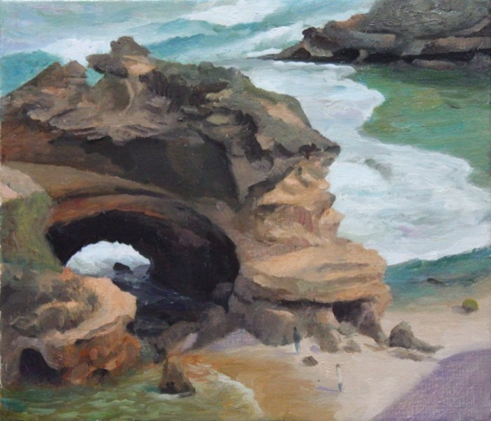 Rick Amor Backbeach Portsea, 2002 Oil on canvas 31x36 $15,000