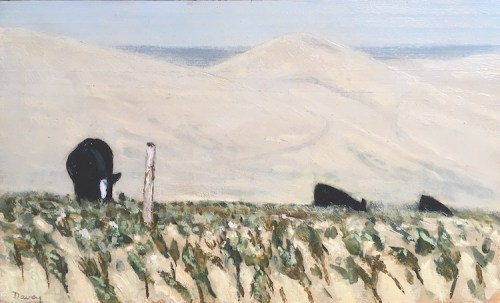 Philip Davey Cattle - Early Morning 20x33