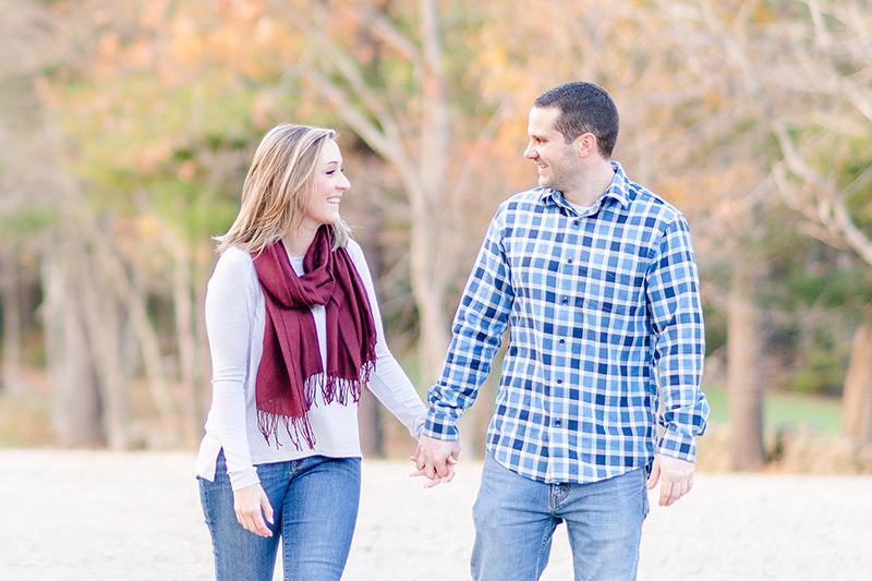 beautiful fall engagement photos spring beach engagement photos at Beaver Brook Q Hegarty Photography wedding photographer Hollis, NH