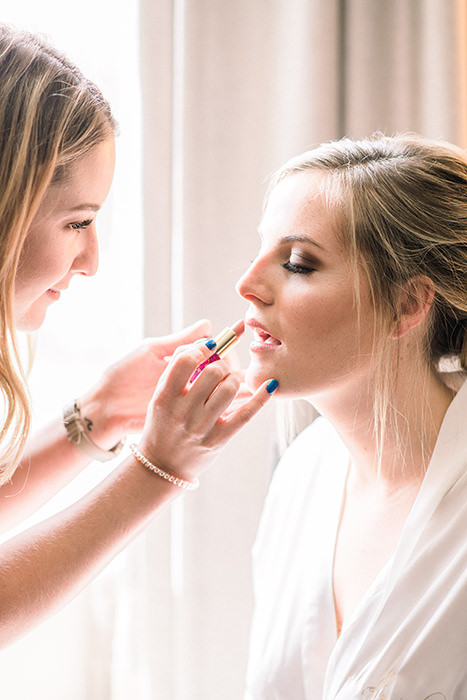 bride's getting ready in hotel Portsmouth, NH Q Hegarty Photography wedding photography near Portsmouth, NH