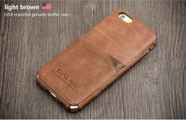 QIALINO Leather Back Case for Iphone 6