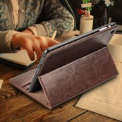 QIALINO Genuine Leather Case for iPad