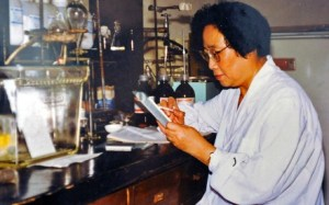 2015 Nobel Prize Winner Tu You You for her discovery of Artemisinin as an alternative malaria treatment to the standard chloroquine, which was quickly losing ground in the 1960s due to increasingly drug-resistance