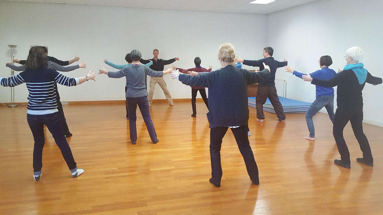 séance de Qi Gong avec Hervé Bourlès