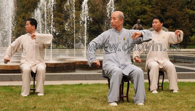 Daoyin Shi Er Fa profesor Zhang Guangde
